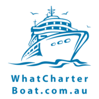 What Charter Boat Logo square s